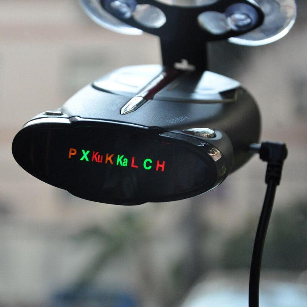 16 bandas Xrs 9880 12V detectores de Radar de coche de 360 grados pantalla Led láser Anti detectores de Radar velocímetro de policía alerta de voz