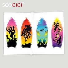 Couverture de surf en molleton douce personnalisée   Décoration de planche de surf, Collection de planche de surf élégante, Culture des jeunes, californie