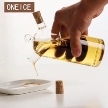 Oil Bottle High Temperature Resistant Vinegar Glass Bottle Sauce  Jar Sealed Seasoning Small Storage Wine Bottles Oiler
