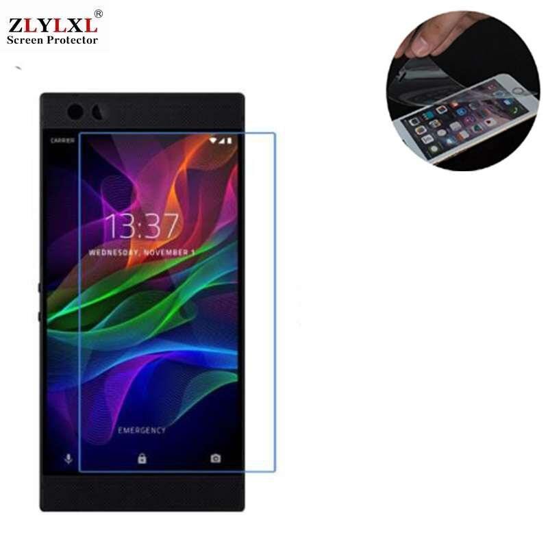 5 piezas mucho suave a prueba de arañazos Ultra-delgada película HD para Razer teléfono protector de pantalla 2