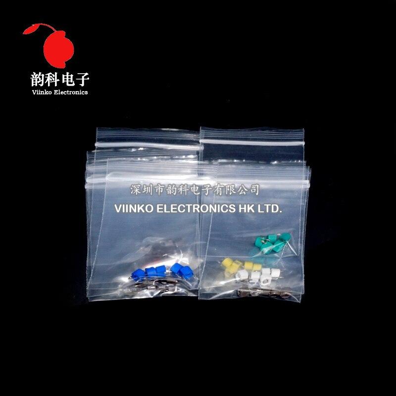 45 Uds = valor 9x5 Uds., recortador, juego de selección de condensador ajustable JML06 5pf 10pf 20pf 30pf 40pf 50pf 60pf 70pf 120pf, conjunto de condensadores