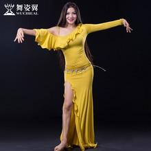 Bellydance Belly Dance Costumes Belly Dance woman Dress Wuchieal Brand Costumes For Oriental dance wear QC2638