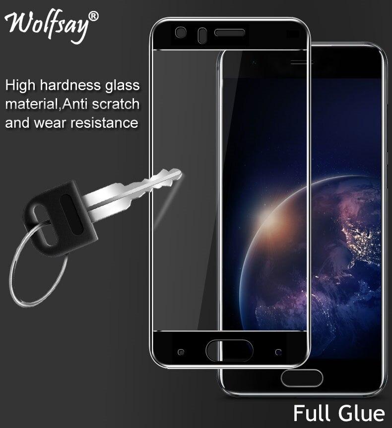 2PCS Full Glue Screen Protector For Huawei Honor 9 Tempered Glass Full Cover Glass For Huawei Honor