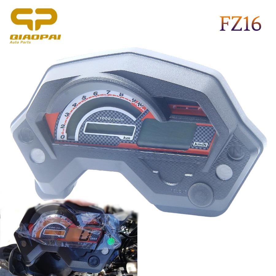 Velocímetro da motocicleta digital indicador elétrico universal display lcd acessórios para cafe racer velocímetro yamaha fz16 fz 16