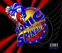 Cartucho de juego de Spinball Sonic The Hedgehog, la más nueva tarjeta de juego de 16 bits para el sistema Sega Mega Drive / Genesis