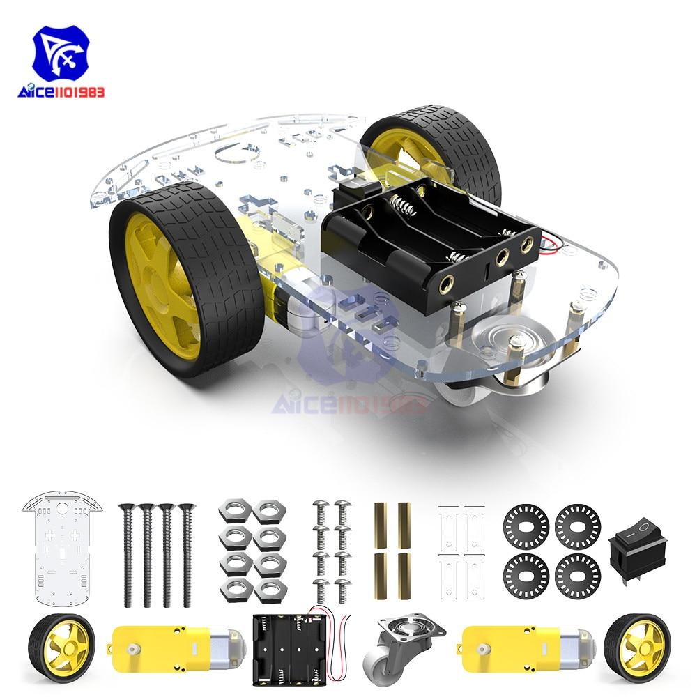 Diymore 2WD умный робот, комплект шасси авт�