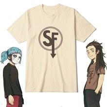 Camisetas de algodón con estampado de la cara del juego Sally, camisa de Cosplay, Sallyface, manga corta, Unisex, 10 estilos