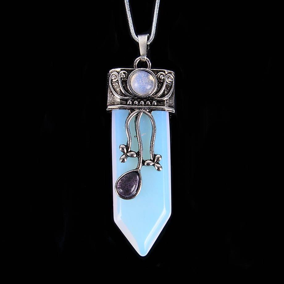 Reiki Natürliche Edelstein Stein Schwert Anhänger Pendel Labradorit Rosa Quarz Lapis Lazuli Schwarz Obsidian Tiger Eye Schmuck D114-D124
