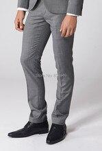 남성 정장 바지 남성 정장 바지 슬림 피트 맞춤 제작 클래식 남성 비즈니스 바지, 맞춤형 clasic dresse pantalon costume homme