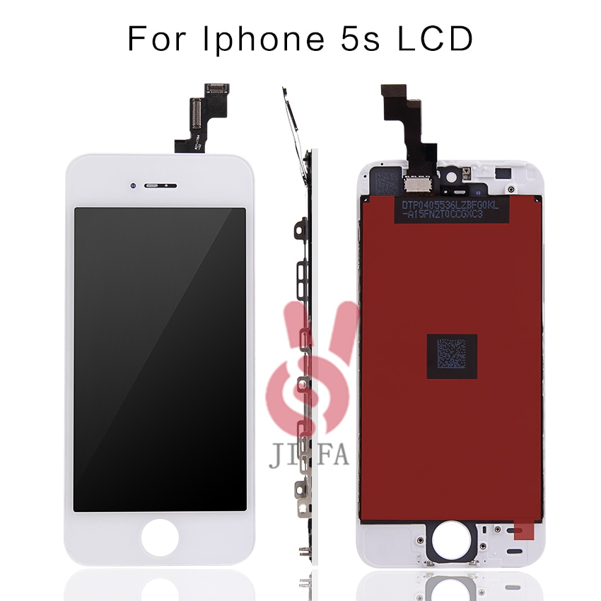10PCS/Lot 100% Top No Dead Pixel AAA For iPhone 5S LCD Display Screen Replacement Pantalla Test One By One Free Shipping DHL enlarge