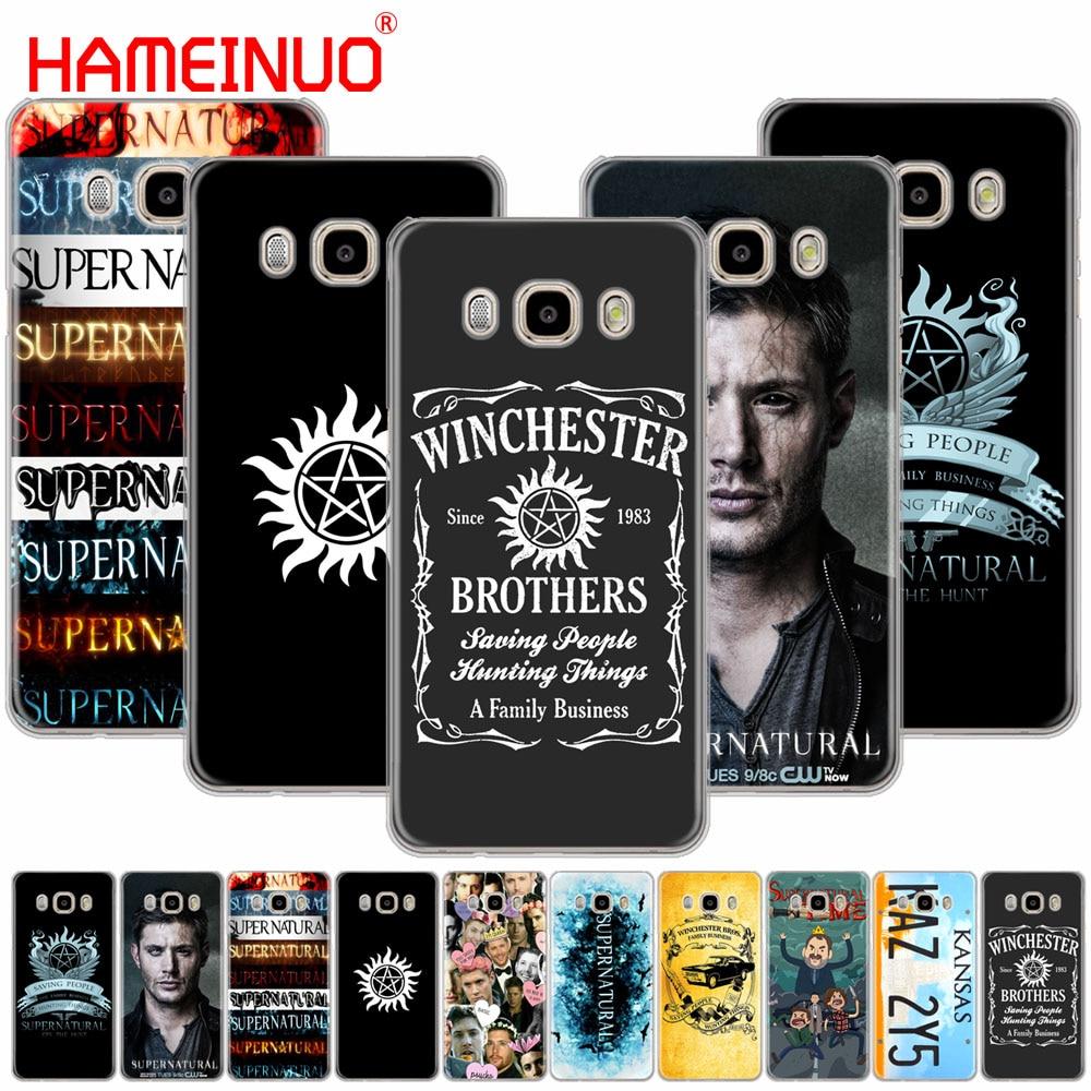 HAMEINUO Supernatural Jared Padalecki cover phone case for Samsung Galaxy J1 J2 J3 J5 J7 MINI ACE 2016 2015 prime