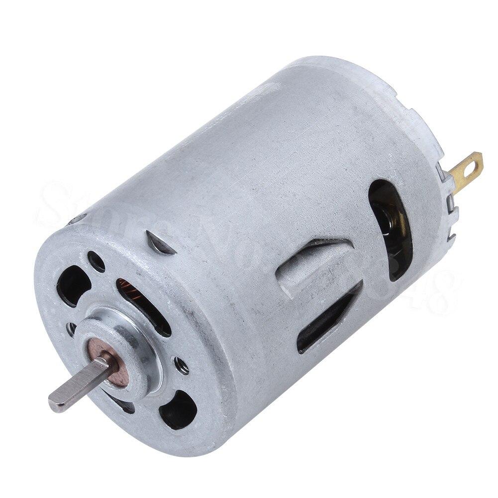 RS-380PH Hobby Motor eléctrico-7,2 V CC-ideal para R/C barco 380 cepillo de motor para Himoto HSP 28006