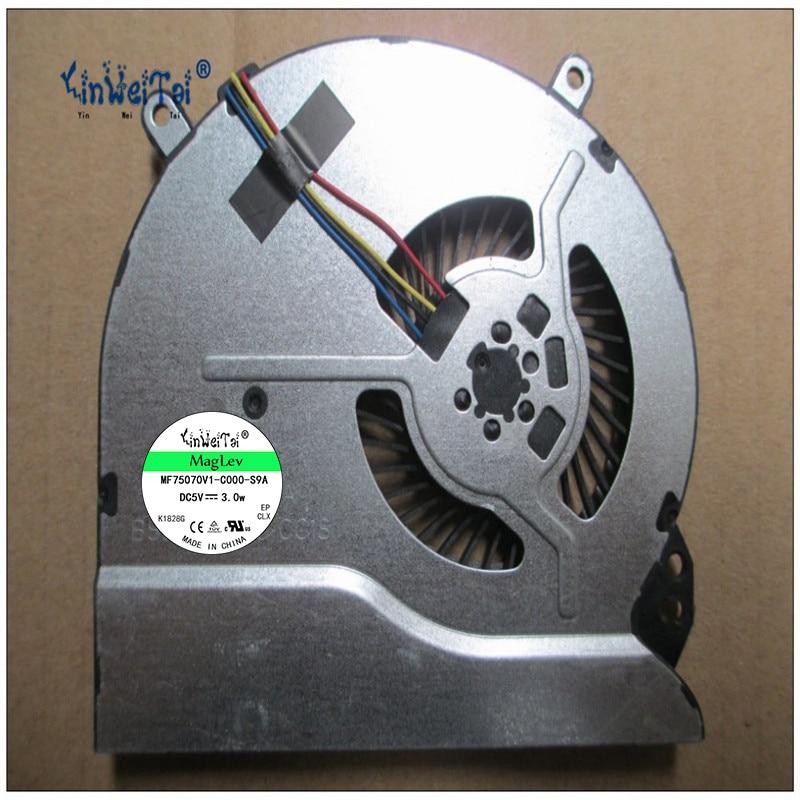 CPU Laptop Cooling Fan Para HP Pavilion Sleekbook 14 15 702746-001 697914-001 BSB0705HC-CC1S ADDA AB09005HX070B00 0CWU33