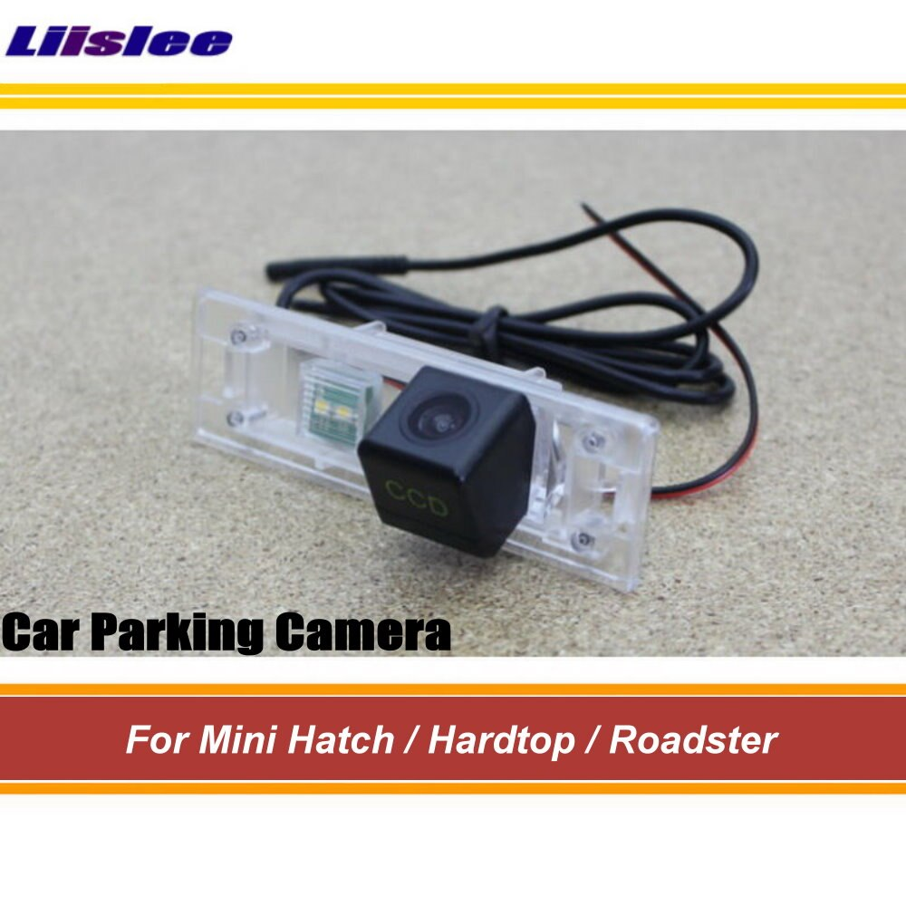 Автомобильная камера заднего вида, камера заднего вида для мини-люка/Хардтоп/родстер, парковочная Автомобильная камера заднего вида HD SONY CCD ...