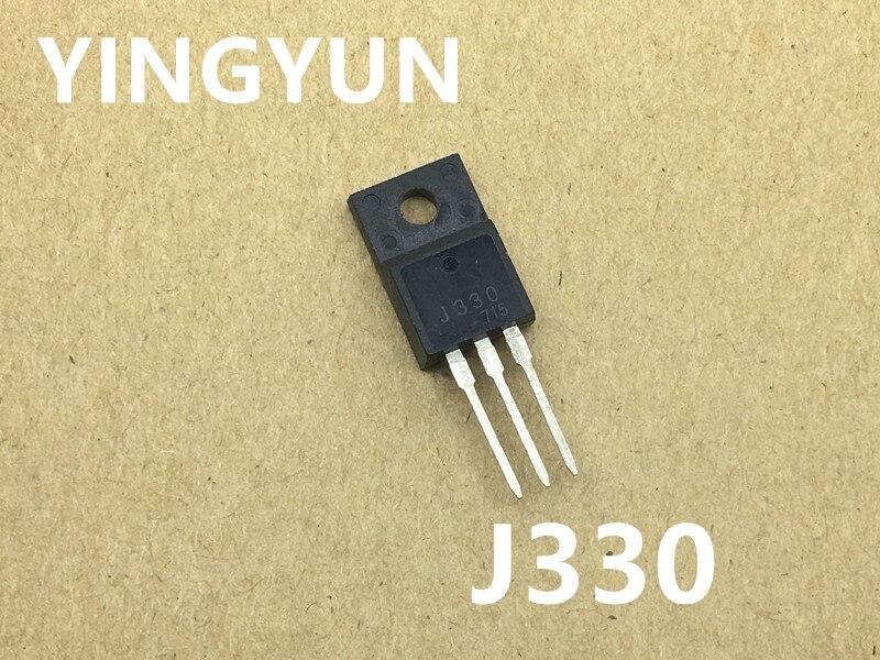 10 unids/lote 2SJ330 J330 TO-220F MOS de efecto de campo transistor nuevo original