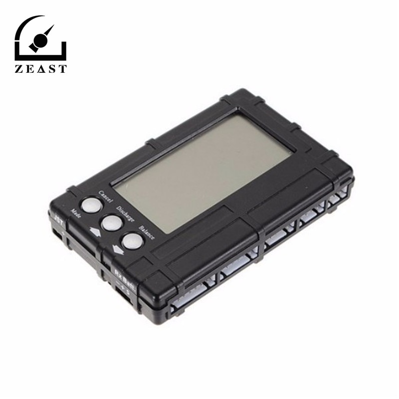 3 в 1 балансировщик напряжения батареи тестер разрядник Rc 2 s-6 s Lipo Li Fe ЖК-дисплей регистр емкость батареи