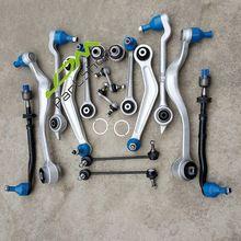 Frente braços de controle traseiro links tie rods sway barra ligação kit reparação suspensão conjunto para bmw 525i 528i 530i e39 modelos