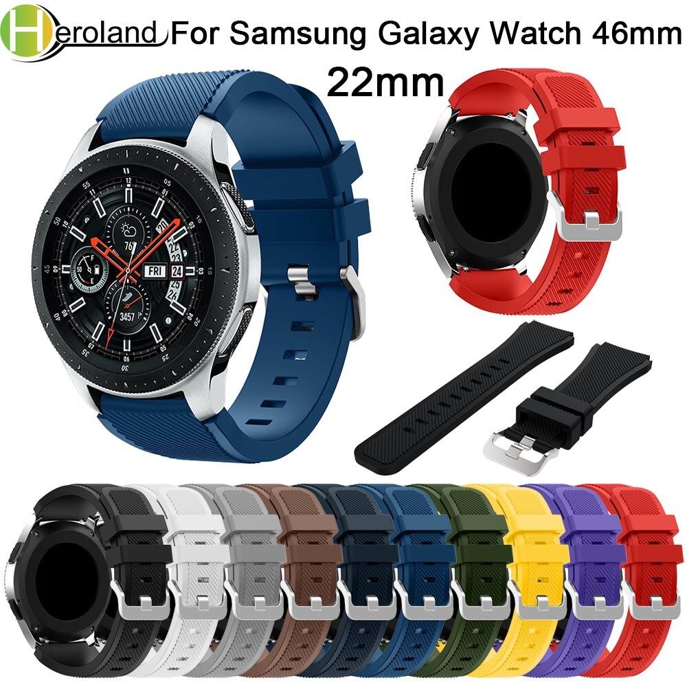 Correa de 22mm para Samsung Galaxy watch, banda de 46mm para Samsung...