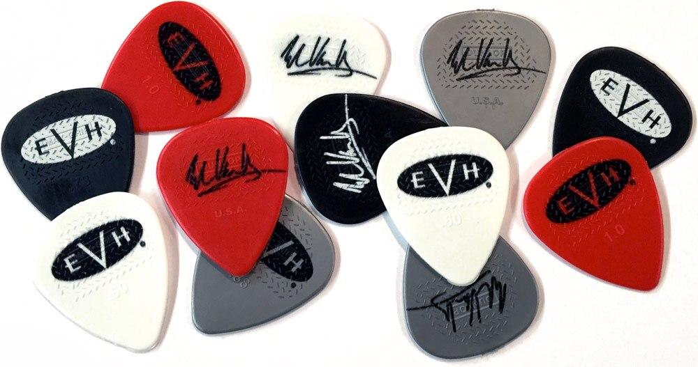 EVH Eddie Van Halen Signature гитарный медиатор Pick Plectrum, 6 ⑤ упак.