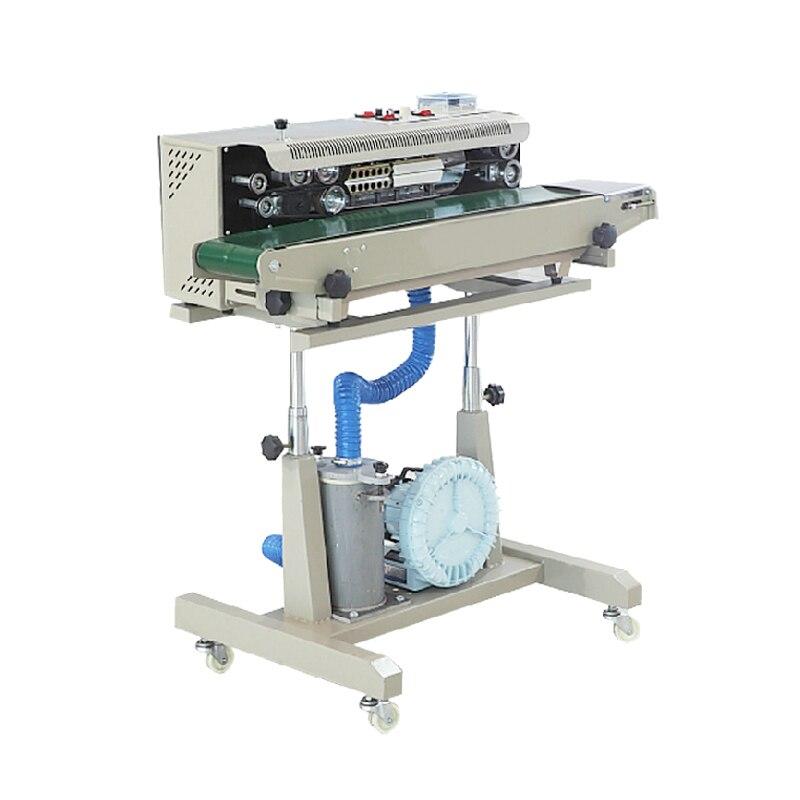Máquina para sellar bolsas de burbujas sellador de inyección de aire paquetes de aluminio automáticos sellador de cierre equipo herramientas empacador