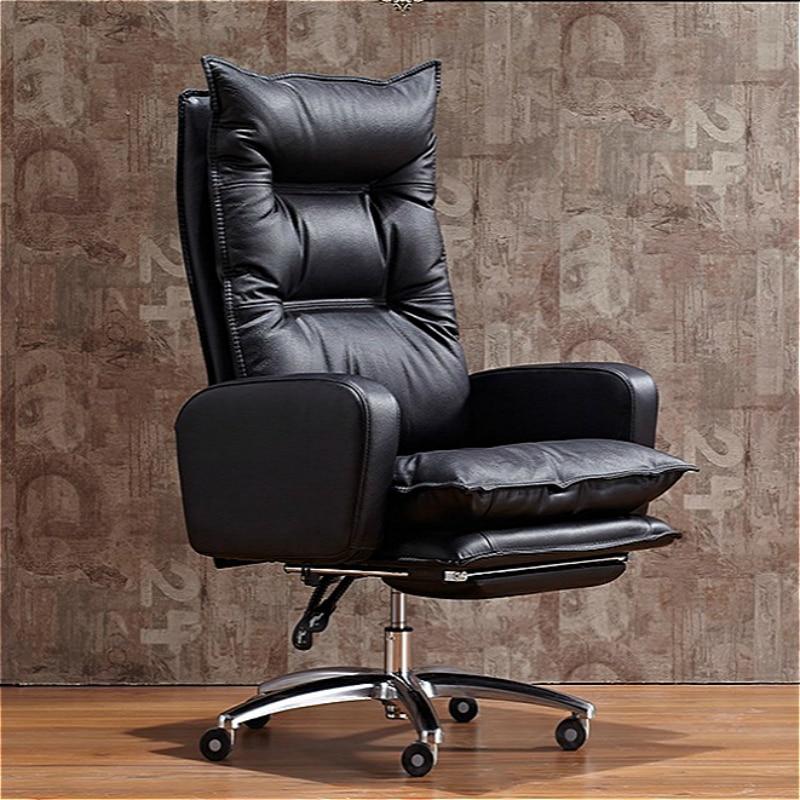 Утолщенное офисное кресло для руководителя многофункциональный компьютерный