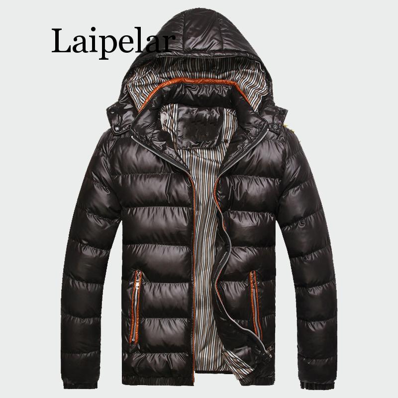 Laipelar 2020 зимние мужские пальто теплые толстые мужские куртки мягкие повседневные парки с капюшоном мужские пальто Мужская брендовая одежда