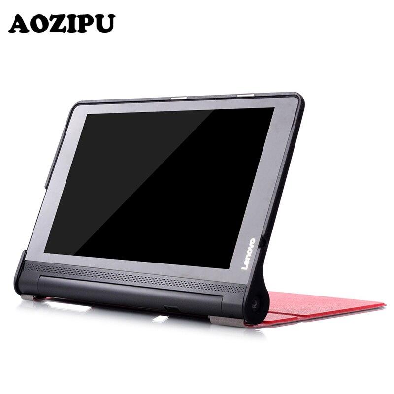 Защитный чехол для планшета Lenovo Yoga Tab3 Plus 10,1 дюйма, чехол из искусственной кожи для Lenovo Yoga TAB 3 X90F/X90L + пленка