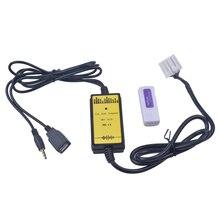 Changeur de CD virtuel pour Mazda   Adaptateur USB MP3, Interface Audio SD AUX, câble de données USB, connexion de CD virtuel, Premacy CX7 RX8 Miata 3 6