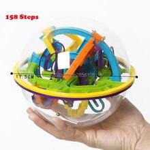 158 Niveaus 3D Magic Perplexus Doolhof Bal Intellect Bal Rollende Bal Puzzel Cubes Game IQ Puzzel Grappig Balance Educatief Speelgoed