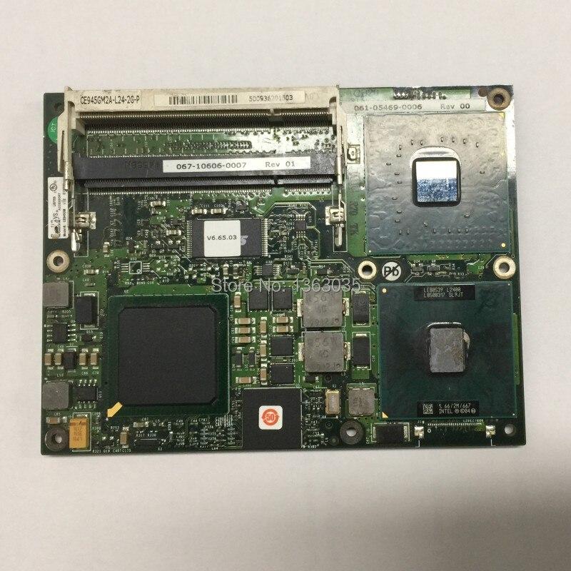 EMS DHL frete grátis CE945GM CE945GM2A-L24-2G-P 060-03644-0000 motherboard industrial Cartão CPU testado trabalho