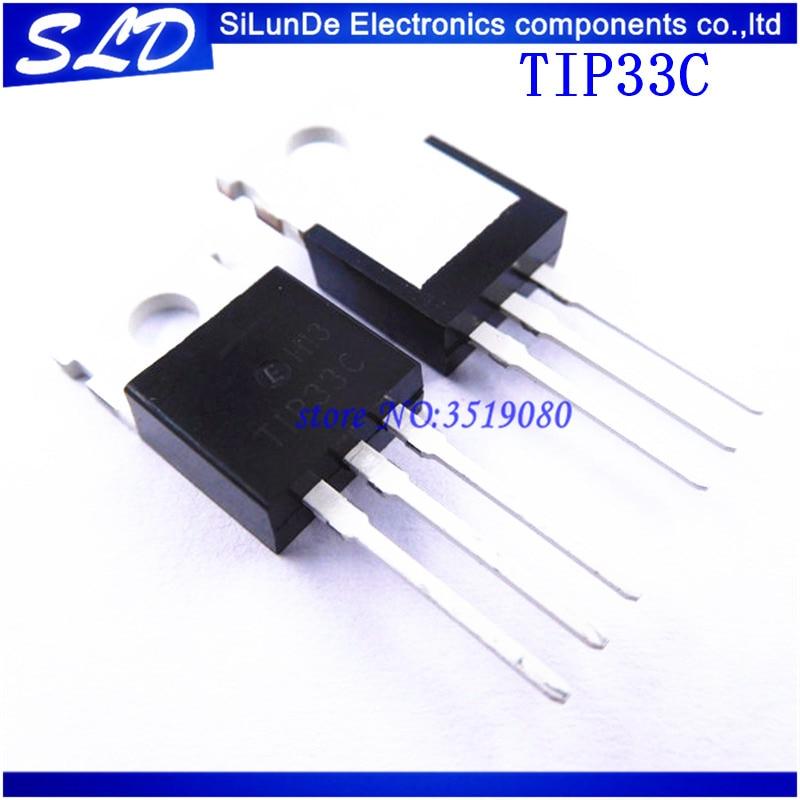 TIP33C T1P33C TIP33-220 20 unids/lote envío gratis