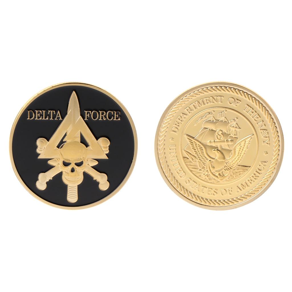 2018 moeda comemorativa significativa delta força exército americano equipe coleção artes presentes lembrança
