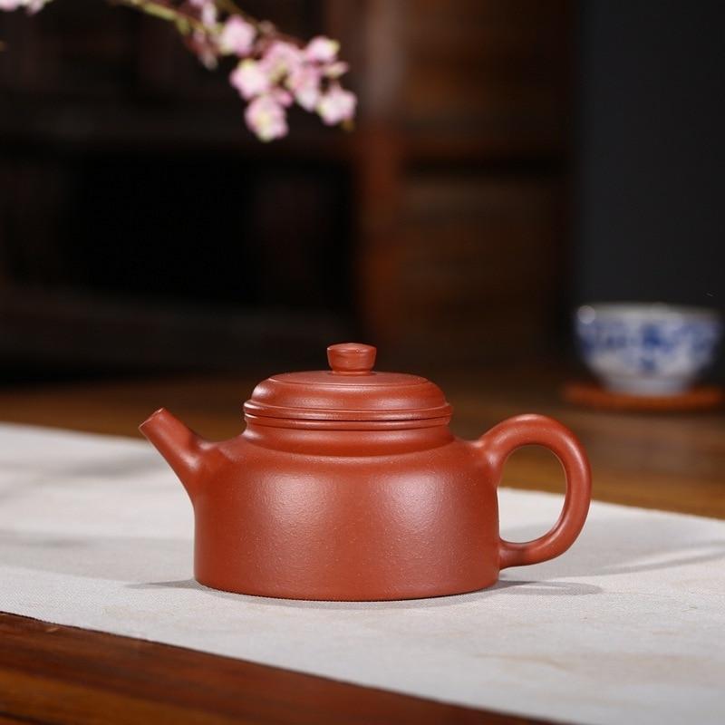 Arena olla DE rima mar famoso puro hecho a mano DE cemento DE material DE reloj olla se recomienda en kung fu té conjunto