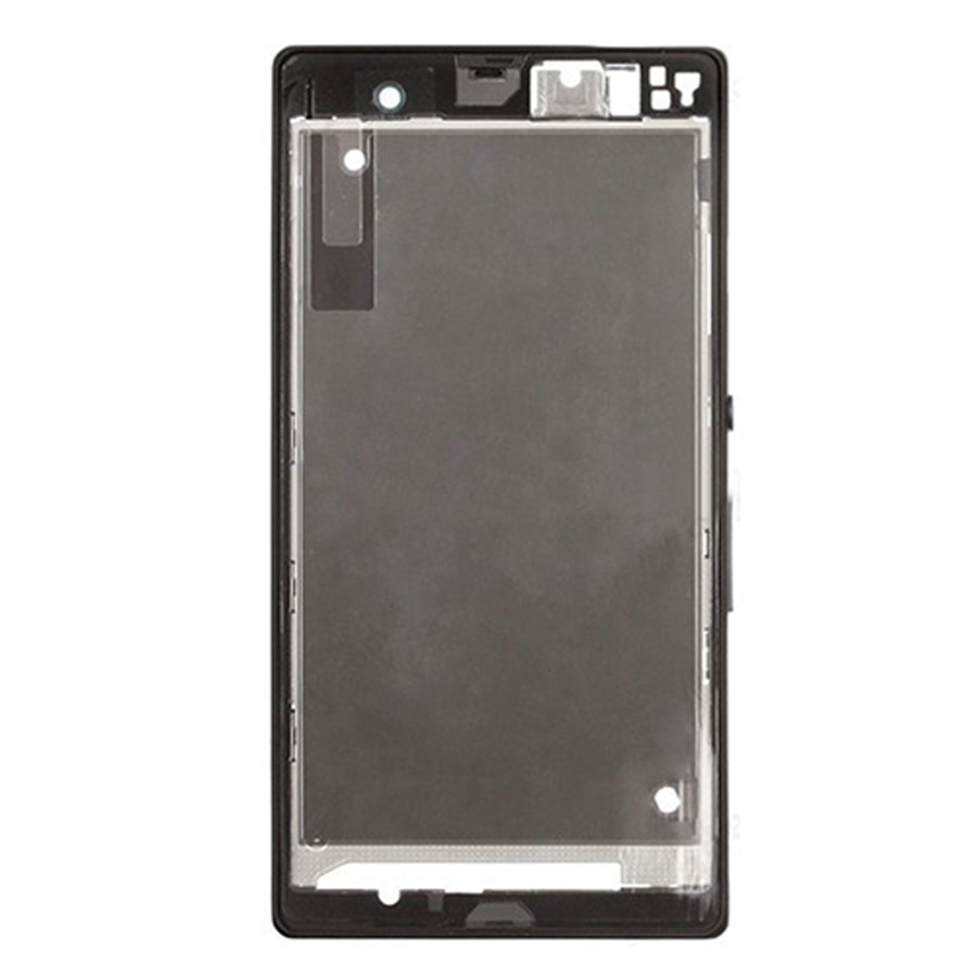 Front Housing LCD Frame Bezel Plate Replacement for Sony Xperia Z / L36h / C6602 / C6603 enlarge