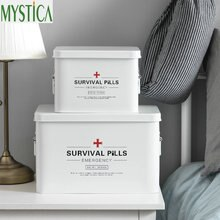 Multi-Schichten Familie First Aid Kit Haushalt Medical Lagerung Box Metall Medikament Sammeln Veranstalter Fall Home Healthcare Medizin Box