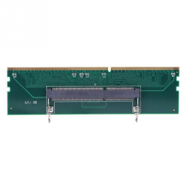 DDR3 SO DIMM A Adaptador de escritorio conector DIMM tarjeta de adaptador de memoria 240 a 204P adaptador de tarjeta de memoria de ordenador