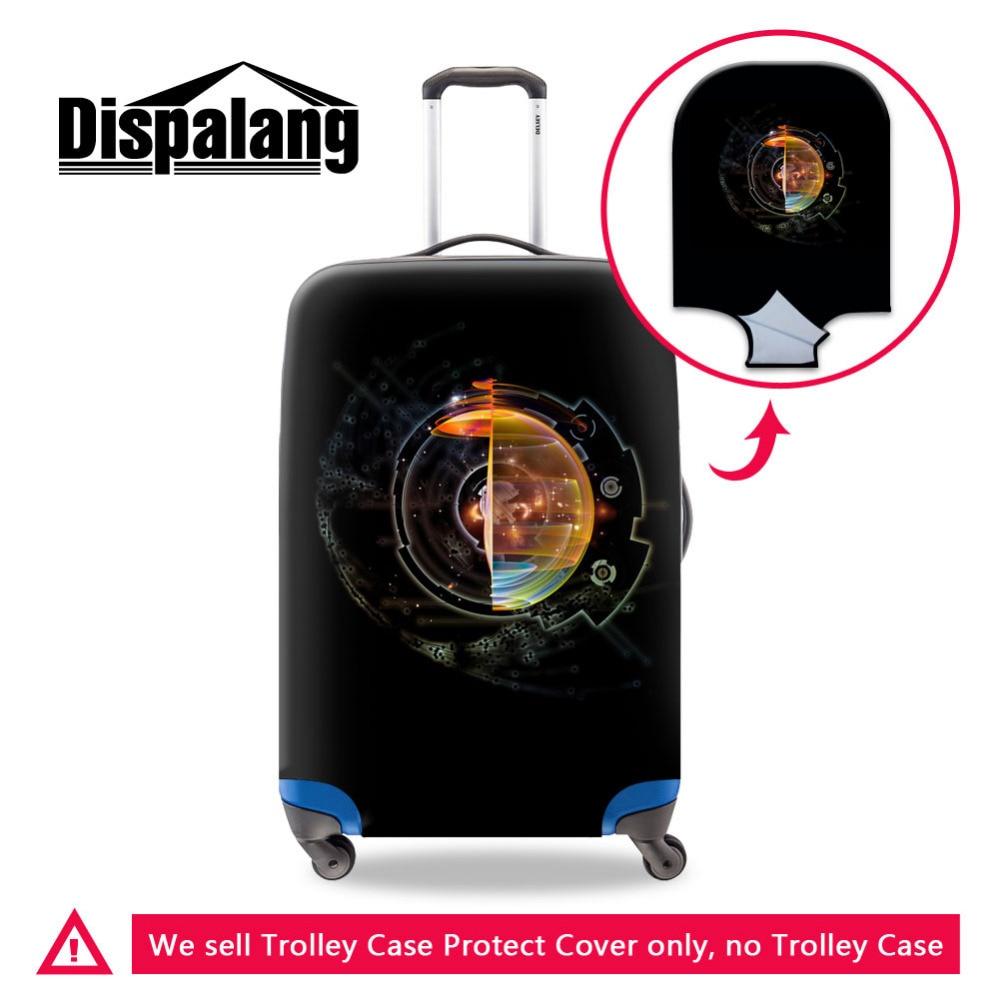 Funda protectora para maleta Dispalang Dream Black funda elástica a prueba de polvo para viaje de 18-30 pulgadas accesorios