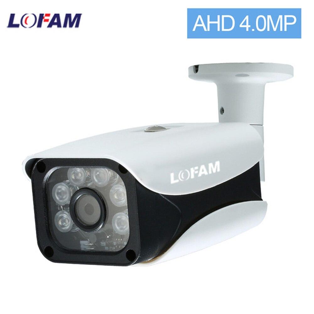 LOFAM-4 ميجابكسل AHD CCTV 4 ميجابكسل ، للاستخدام الداخلي والخارجي ، مقاوم للماء ، مضاد للرصاص ، كاميرا أمان تناظرية ، رؤية ليلية ونهارية تصل إلى 50 مت...