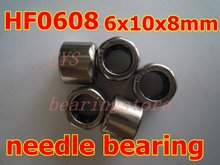 6X10X8mm HF0608 One Way Drawn Cup Needle Bearing / Clutch shell type 6mm shaft