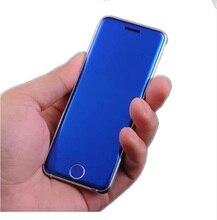 ULCOOL V66 V66PLUS Luxus Super Mini Ultradünne Karte telefon mit MP3 Player Bluetooth 1,67 zoll Staubdicht Stoßfest handy