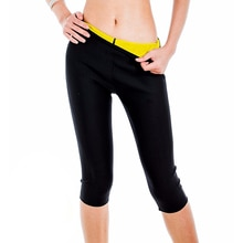 Womens Slimming Pants Thermo Neoprene Sweat Shaper Slimming Pants & Vest Super Stretch control Sexy