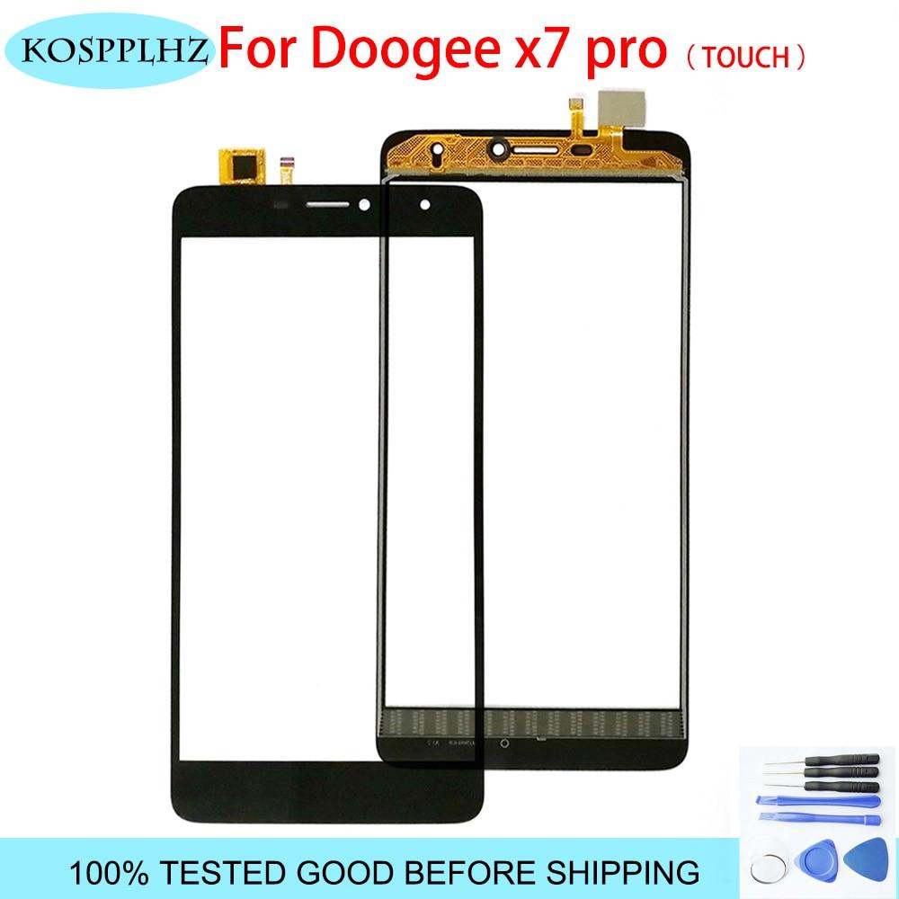 "KOSPPLHZ 6,0 ""alta calidad para doogee x7 x7 pro pantalla táctil Panel de vidrio pantalla táctil para doogee x7 pro digitalizador frontal + herramientas"