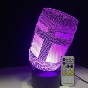 Пусковая установка по умолчанию, девушка, кожаный планер по умолчанию, кувшин для шрамов, темный Вояджер, жнец, 3D светодиодсветодиодный ламп...