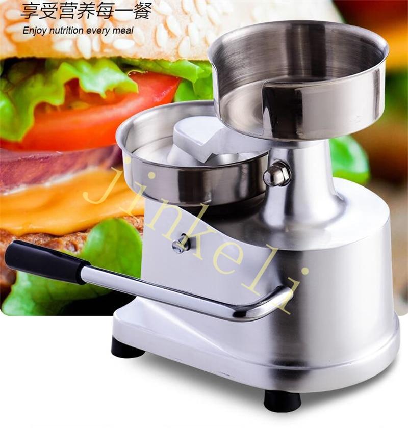 Navio de ar livre manual hambúrguer máquina de moldagem 130mm hambúrguer carne torta pressionando máquina bife omelete sanduíche patty presser