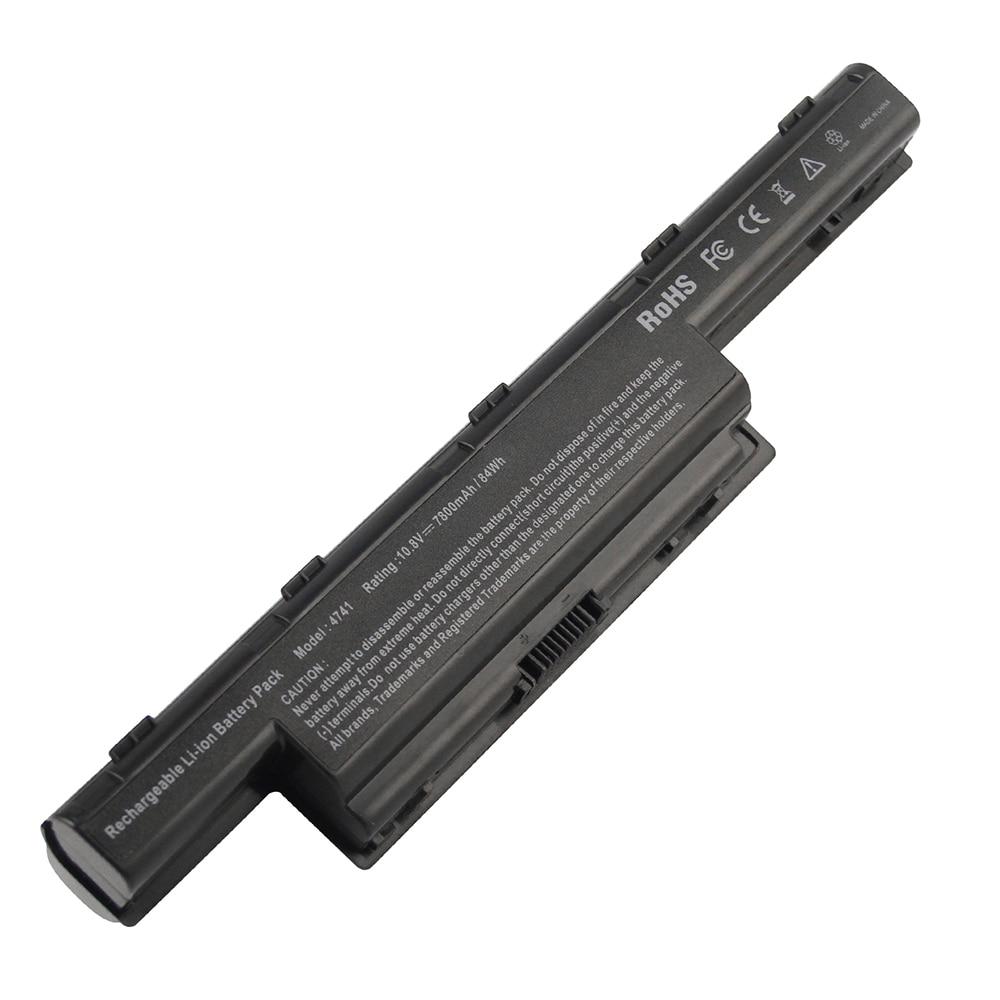7800mAh batería para ordenador portátil Acer Aspire 4741 de 4771 de 4771G...