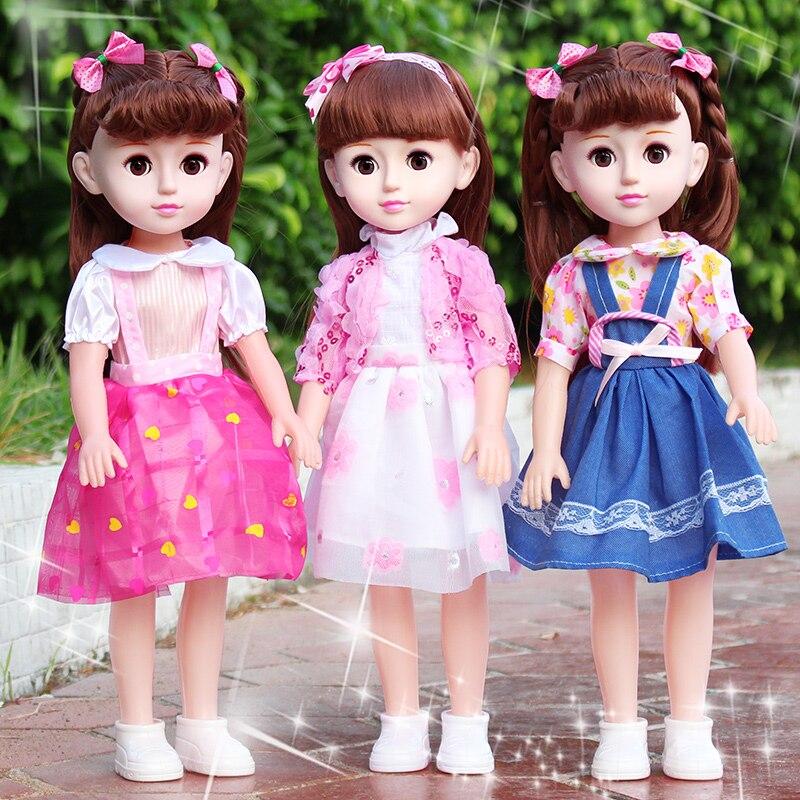 43 cm intelligent parler reborn bébé lol poupées vinyle princesse fille vivante poupée jouets éducatifs pour bébés cadeau bebe boneca reborn