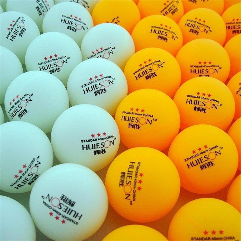 30 Pcs 3-Ster 40mm 2.8g Tafeltennis Ballen Ping pong Bal Wit Oranje Pingpong Bal Amateur geavanceerde Training Bal