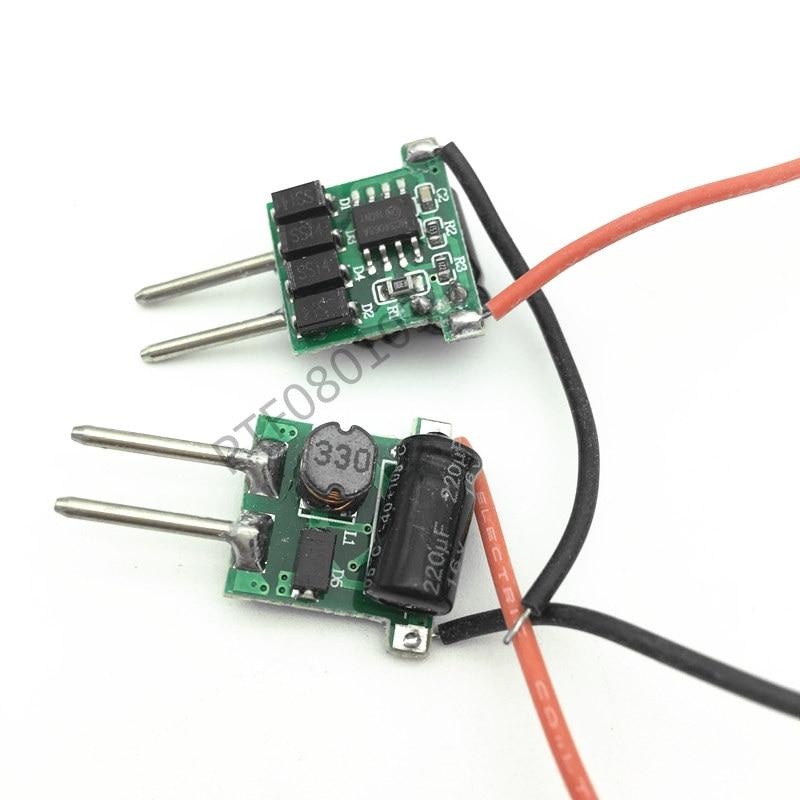 10 Uds 3X3W LED MR16 driver, 3*3W transformador fuente de alimentación para MR16 12V lámpara, potencia 3 uds 3W lámpara LED de alta potencia envío gratis