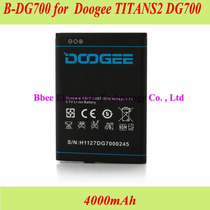 B-DG700 de 4000mAh para Doogee TITANS2 DG700, batería, batería, acumulador AKKU