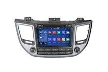 RAM 2 go HD Android 9.0 adapté Hyundai TUCSON 2015 2016 -2018 lecteur DVD de voiture multimédia Navigation GPS NAVI Radio AUDIO stéréo DVD